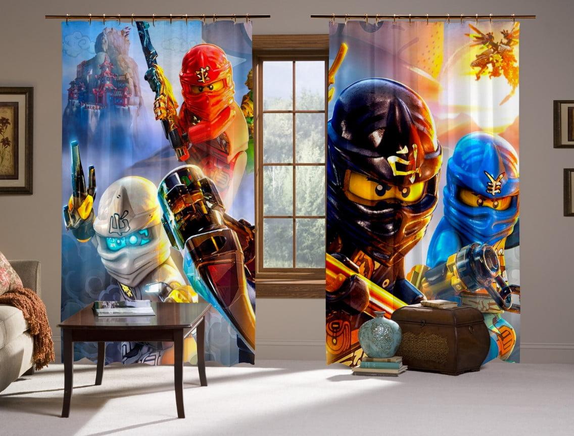 Шторы с 3D принтом на тему: Лего Ниндзяго Призрак. LEGO Ninjago Fandom