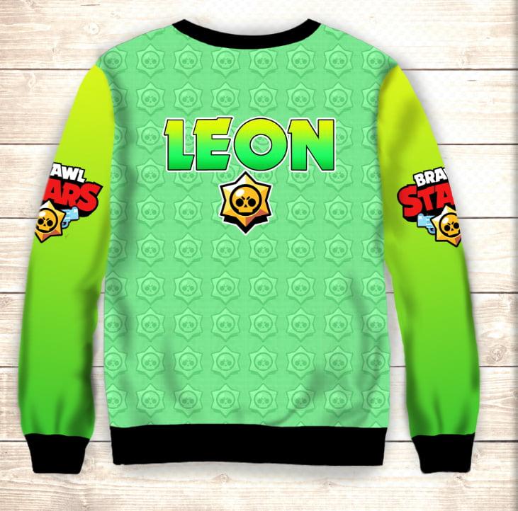 Свитшот 3D Leon