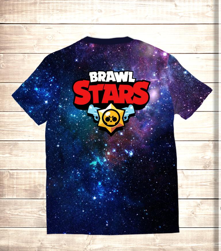 Футболка 3D El Primo / Эль Примо Brawl Stars