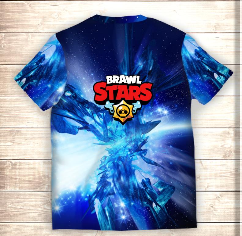 Футболка 3D SHELLY STARS Brawl Stars