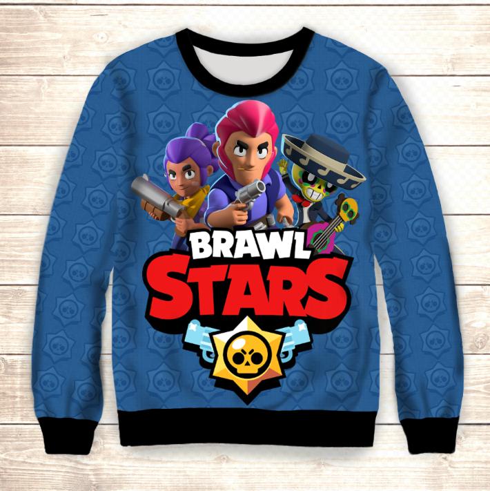 Свитшот 3D Stand Up Brawl Stars