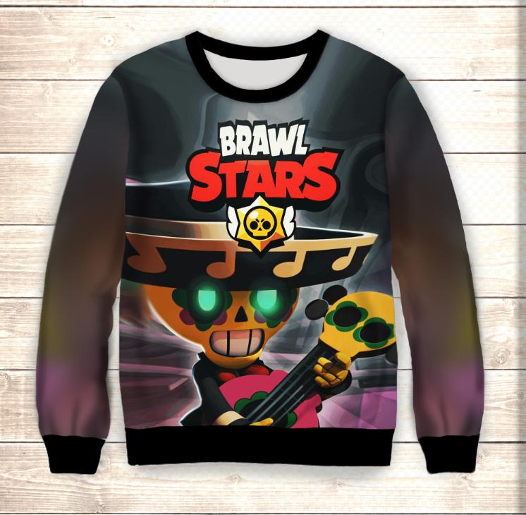 Свитшот 3D Pokko Brawl Stars