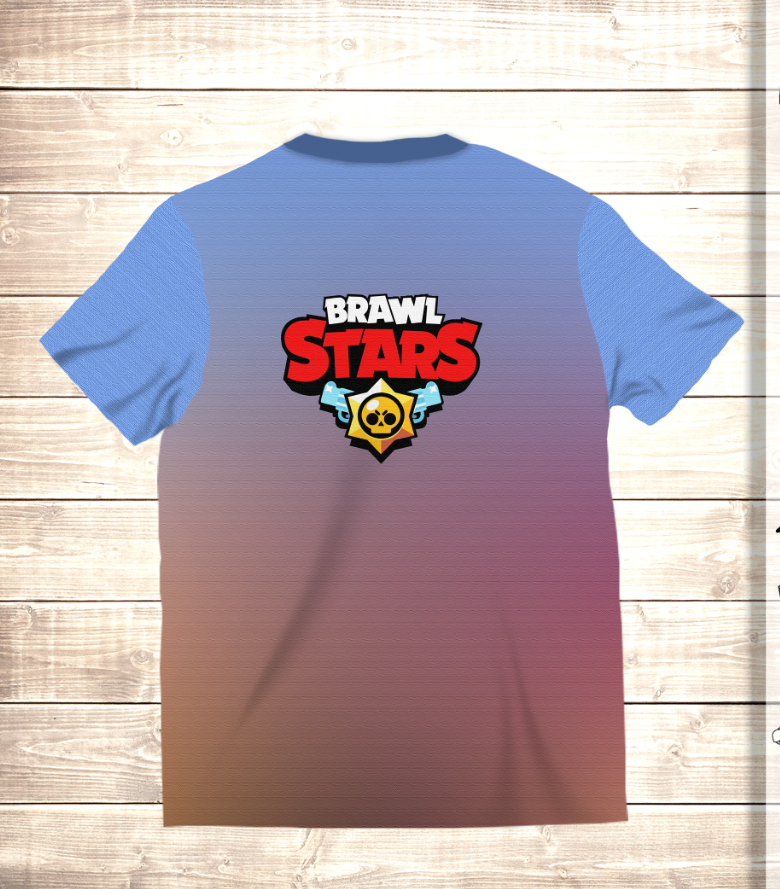 Футболка 3D Бравлеры PARTY Brawl Stars