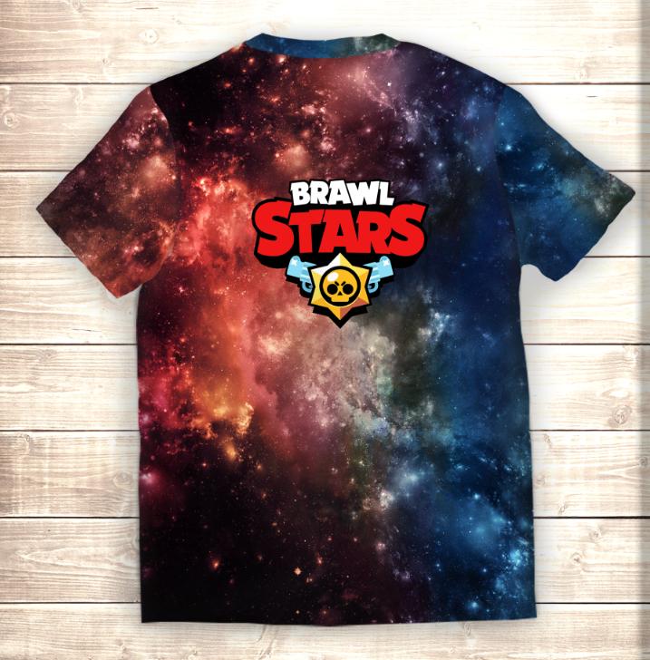 Футболка 3D MR.P Brawl Stars