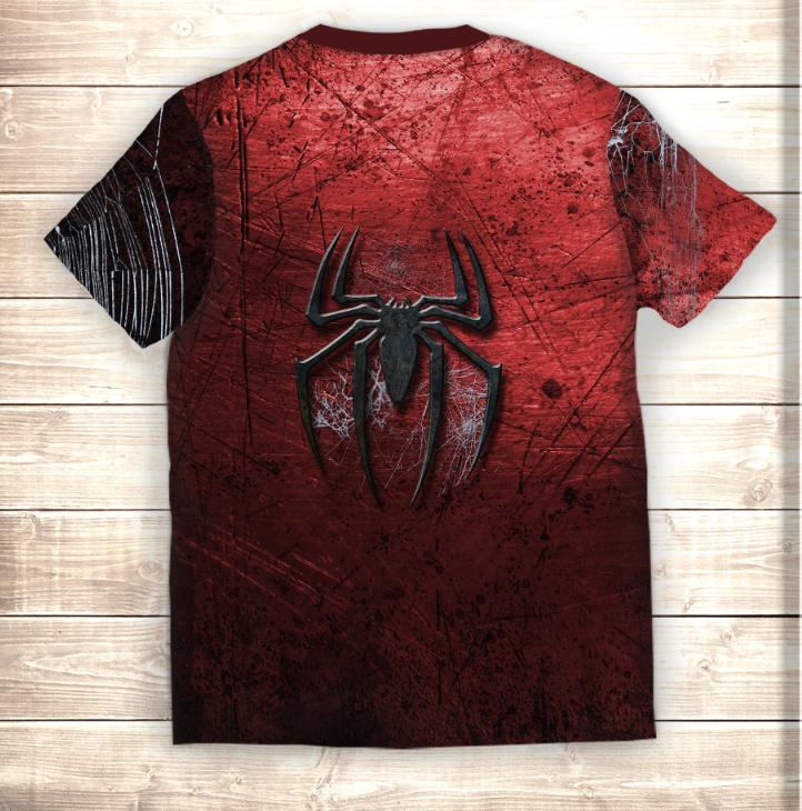 Футболка 3D Человек паук Спайдермен