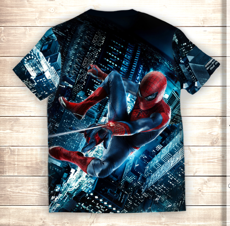 Футболка 3D Человек паук Spiderman