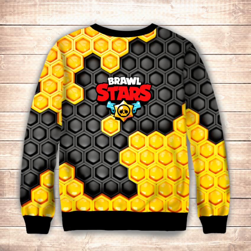 Свитшот 3D Bea Brawl Stars