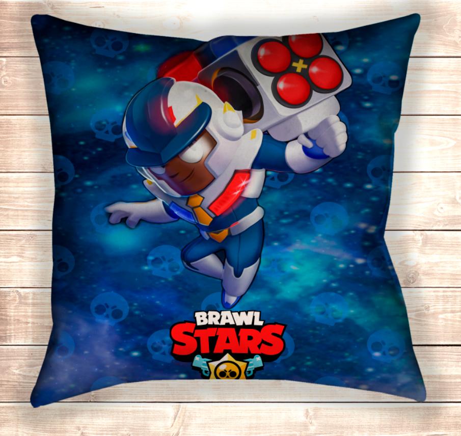Подушка Брок Космическая полиция Brawl Stars