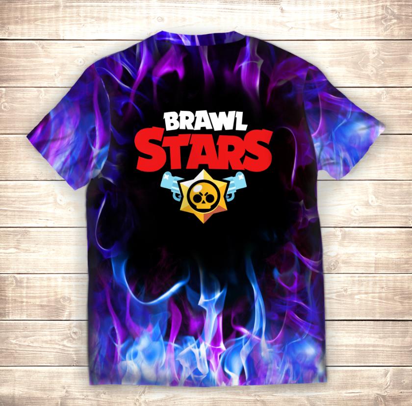 Футболка 3D Demon VOID Gine Brawl Stars