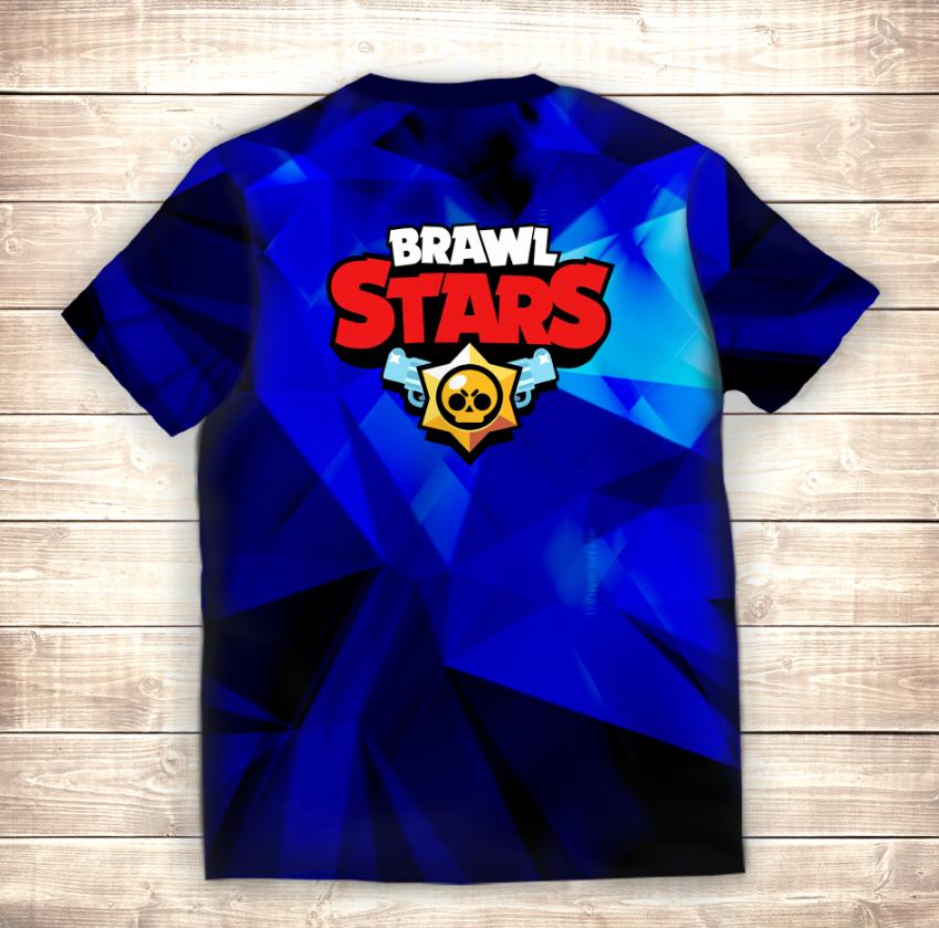 Футболка 3D All Leons Skins Brawl Stars