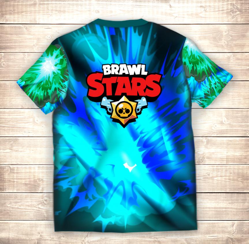 Футболка 3D Вольт Brawl Stars