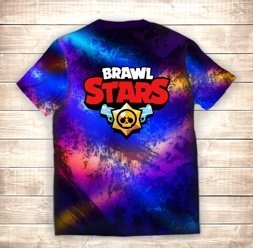Футболка 3D Джеки Ультра Brawl Stars