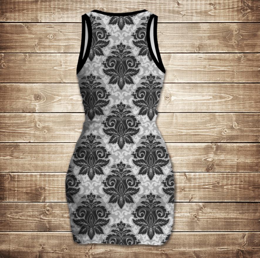 Платье-майка 3D-Винтаж