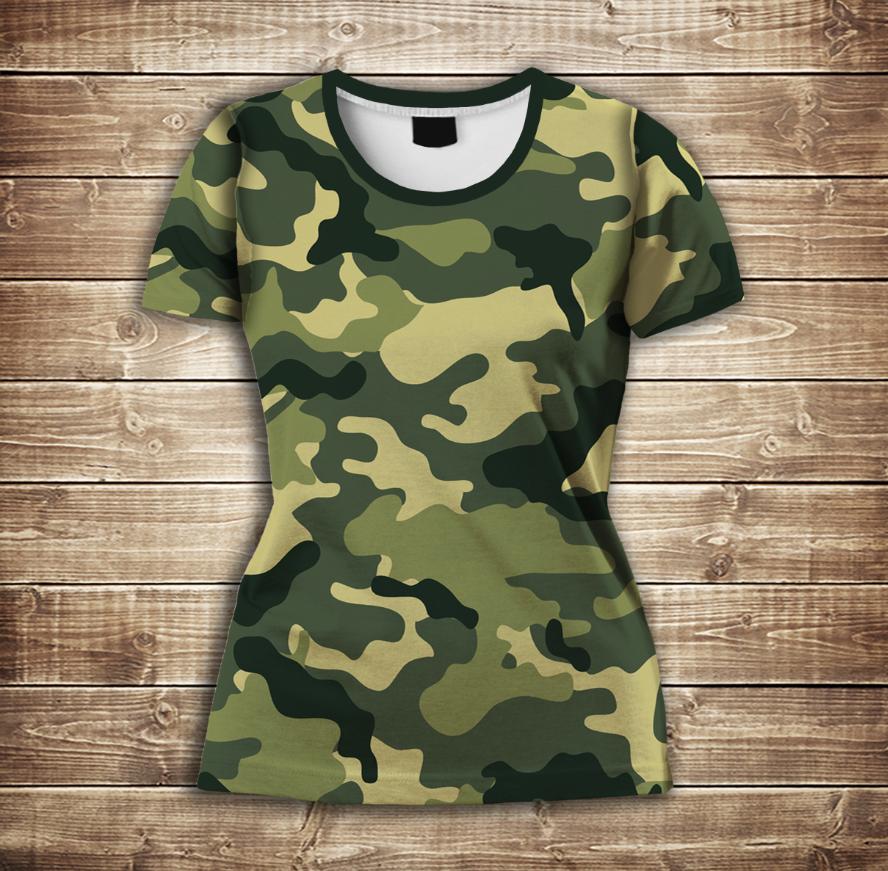 Футболка 3D-Camuflage classic