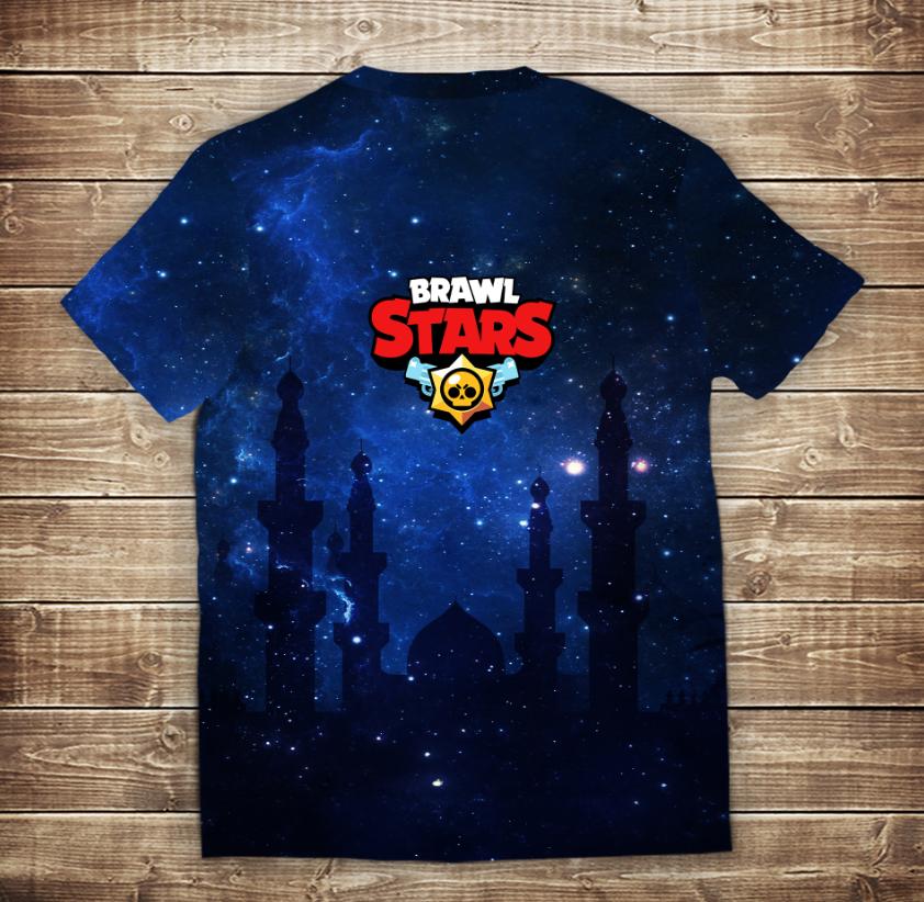 Футболка 3D Бравл Старс Сэнди Brawl Stars