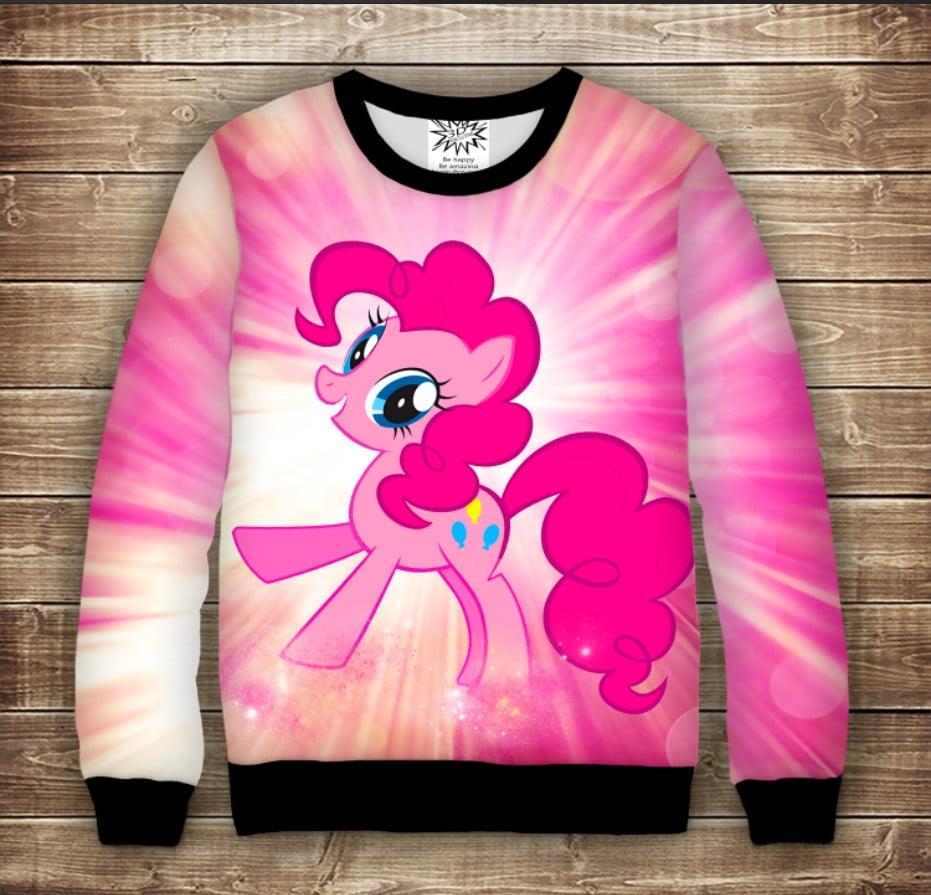 Свитшот с 3D принтом PINKIE PIE My Little pony