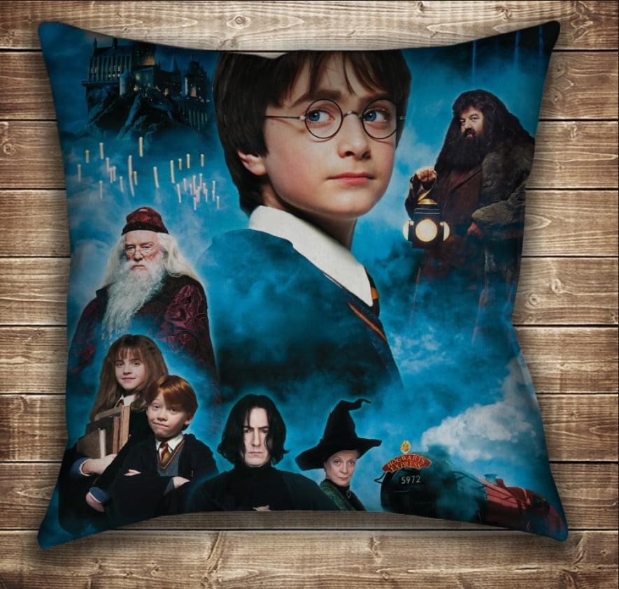 Подушка с принтом на тему: Гарри Поттер и Философский Камень