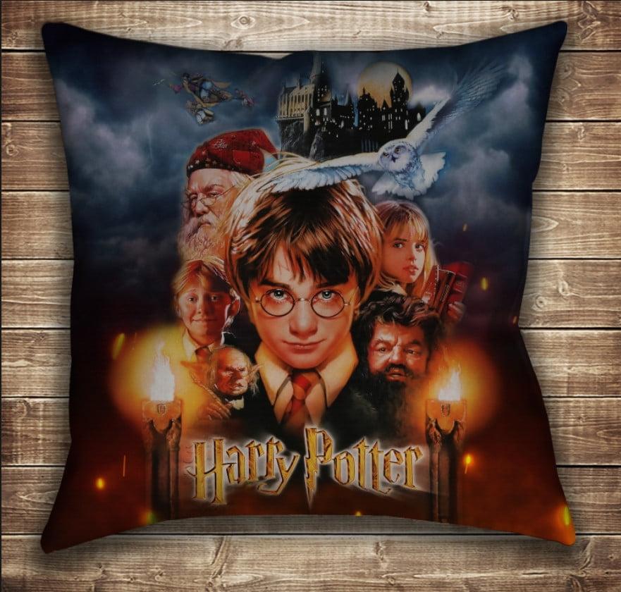 Подушка с принтом на тему: Гарри Поттер и Философский Камень 1 курс