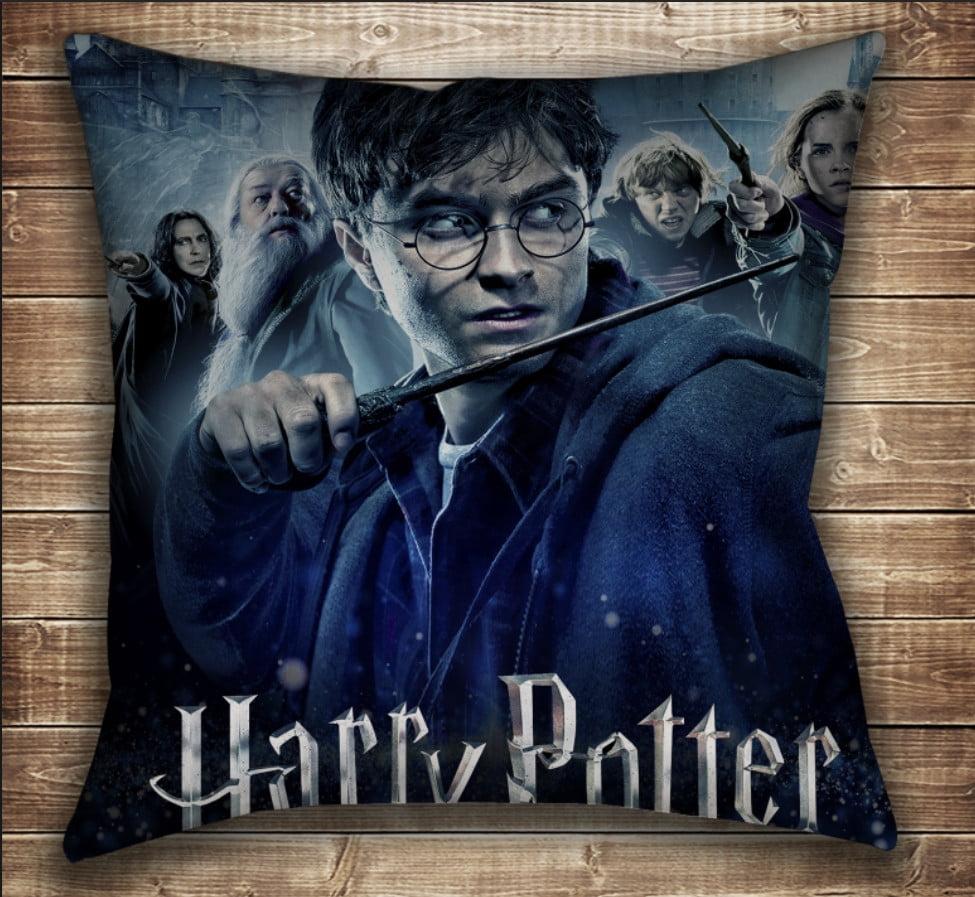 Подушка с принтом на тему: Гарри Поттер Перед боем