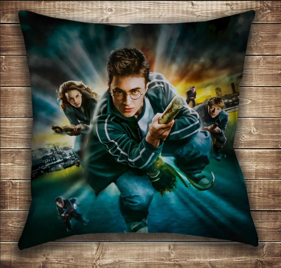 Подушка с принтом на тему: Гарри Поттер