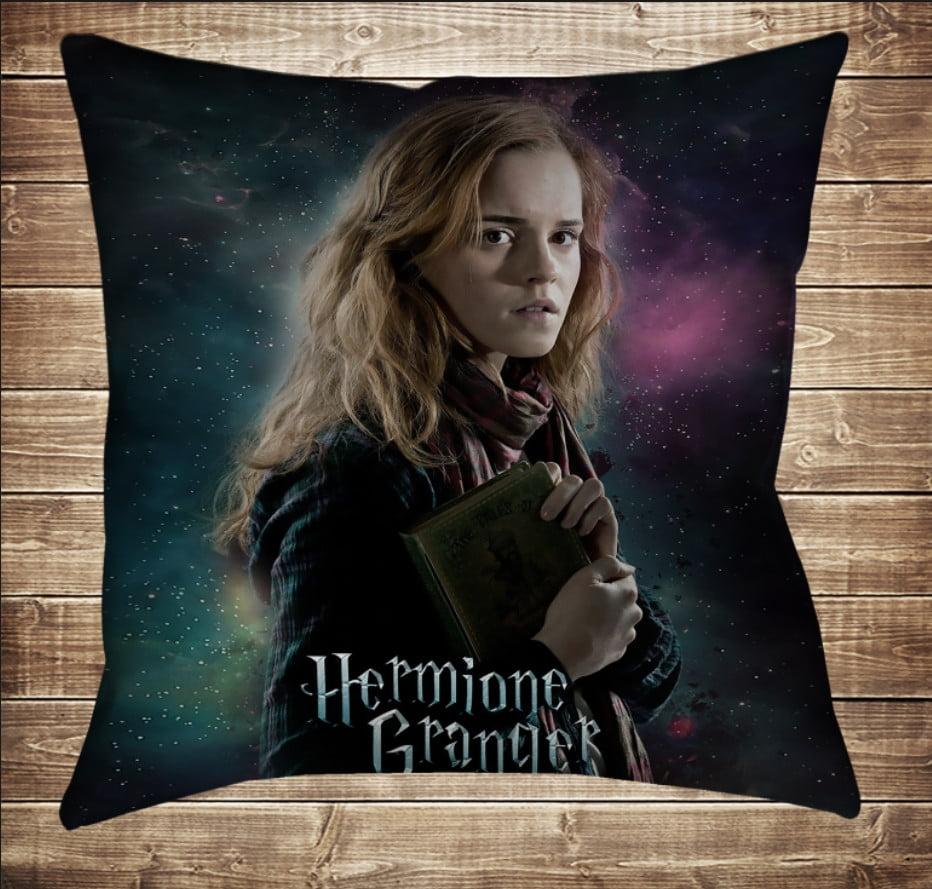 Подушка с принтом на тему: Гермиона Грейнджер. Гарри Поттер