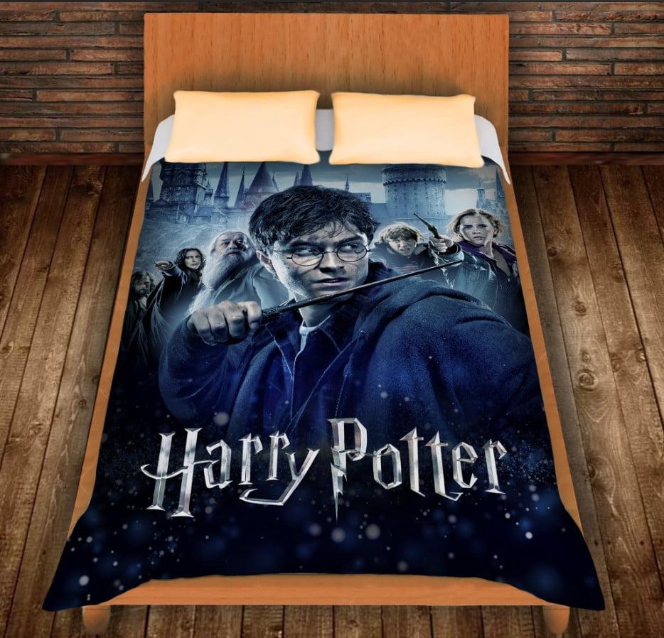 Плед с 3D принтом на тему - Гарри Поттер Перед боем