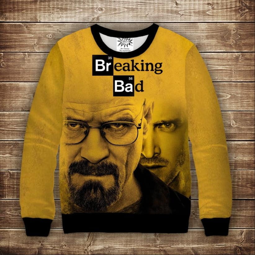Свитшот WALTER AND JESSE Breaking Bad