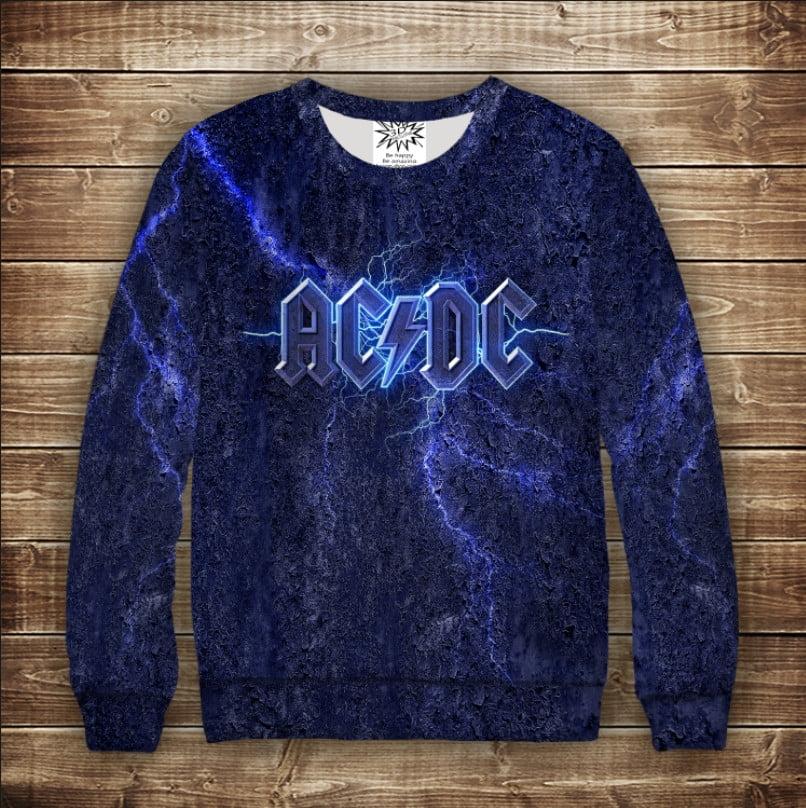 Свитшот AC / DC группа