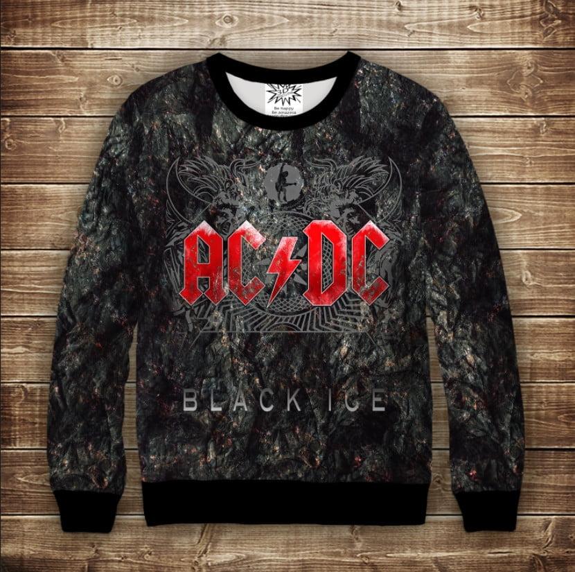 Свитшот 3D BAND AC / DC