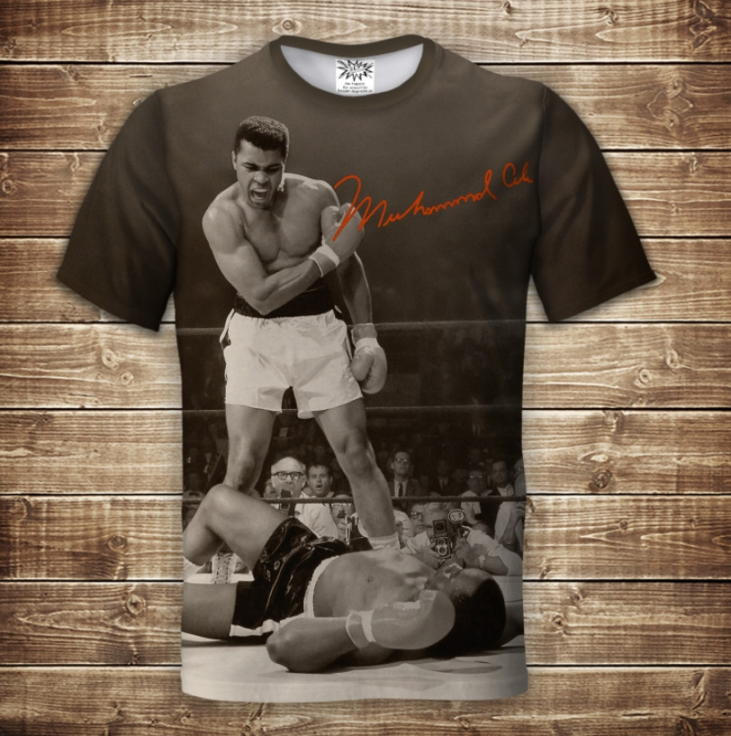 Футболка 3D Мухаммед Али Muhammad Ali