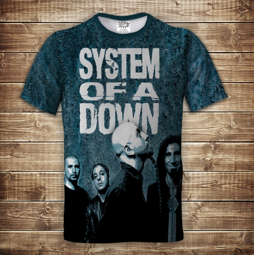 Футболка 3D System of a down