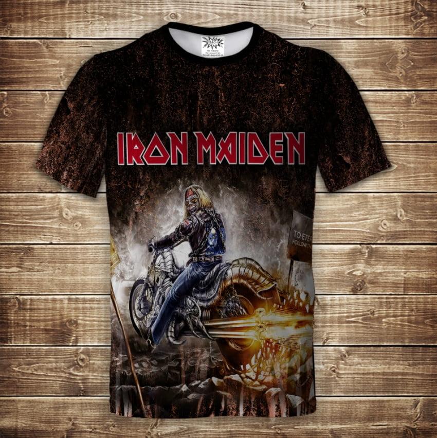Футболка 3D Iron Maiden