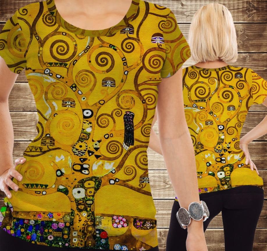 Футболка 3D Gustav Klimt.Stoclet-Fries