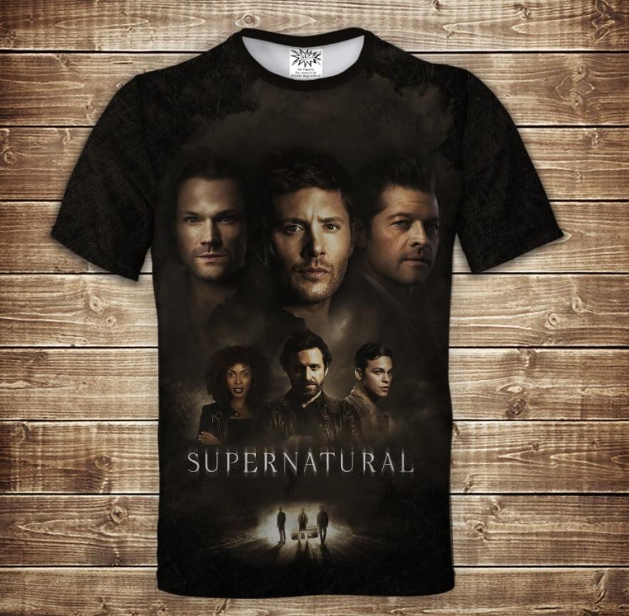 Футболка 3D Supernatural 10 season
