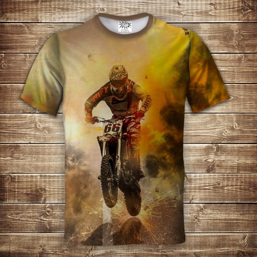 Футболка 3D Motocross