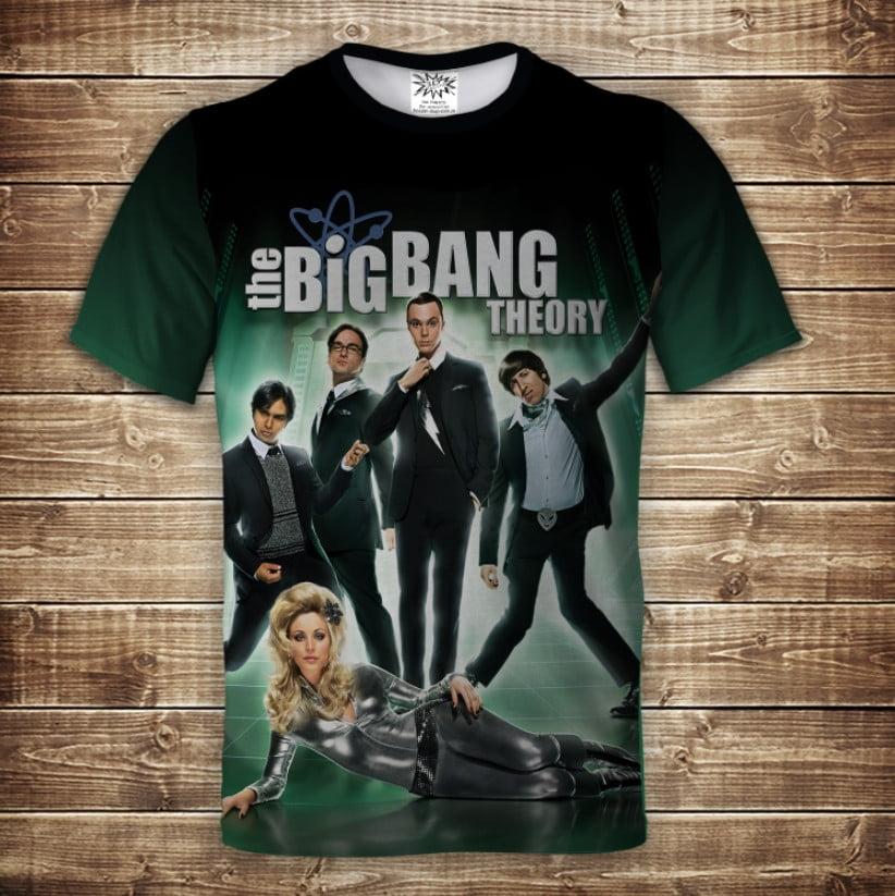 Футболка 3D The big bang theory